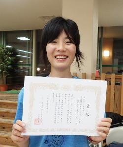 吉岡志帆さんが日本ベントス学会の学生優秀発表賞を受賞!